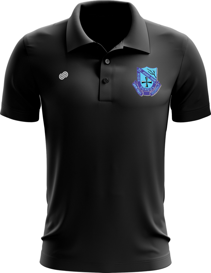 St Johns Park Polo Shirt Black (M/F)