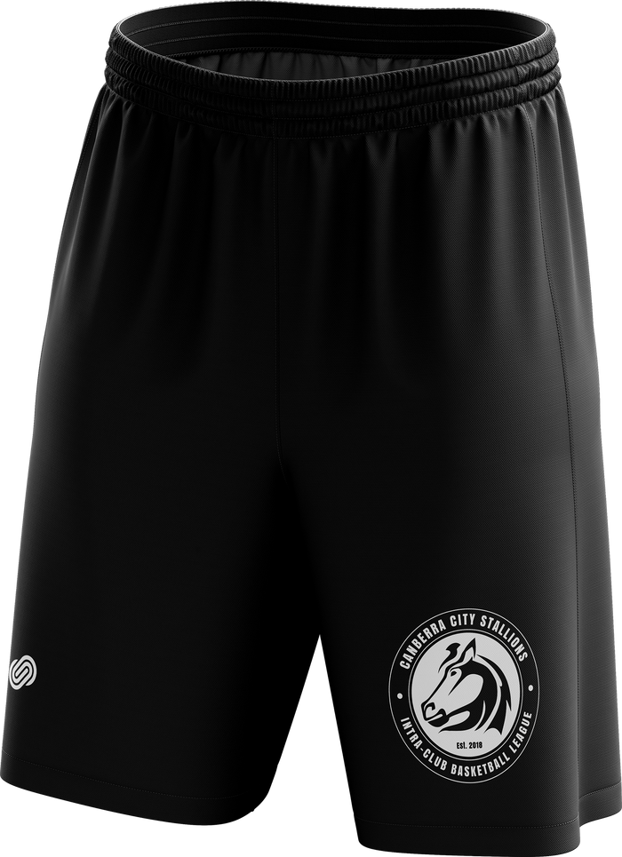 Canberra City Stallions Basketball Shorts