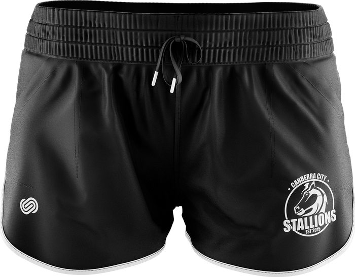 Canberra City Stallions Womens Active Shorts