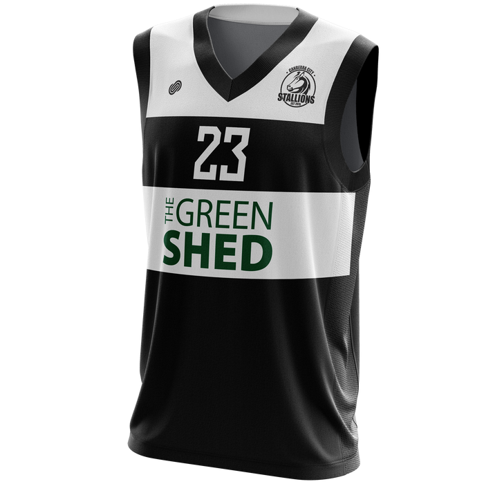 Canberra City Stallions Premier League Basketball Jersey