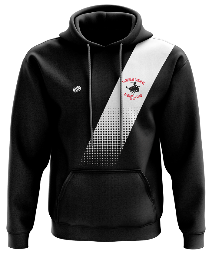 Corrimal Rangers Hoodie (Black or Red)