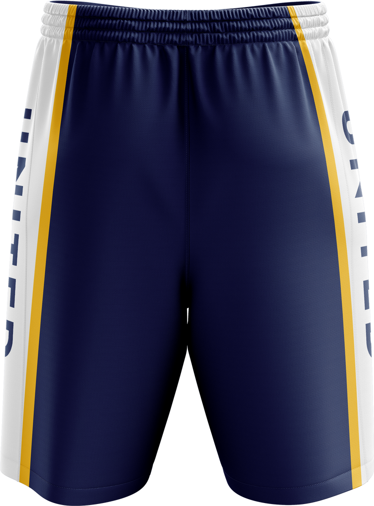 Crossover Basketball Reversible Shorts (Hawthorn comp Uniform)