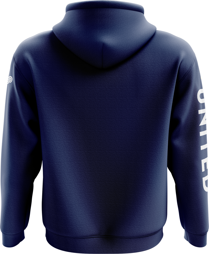Crossover Basketball Hoodie - Blue