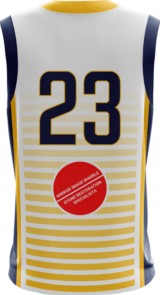Crossover Reversible Basketball Jersey (Hawthorn comp Uniform)