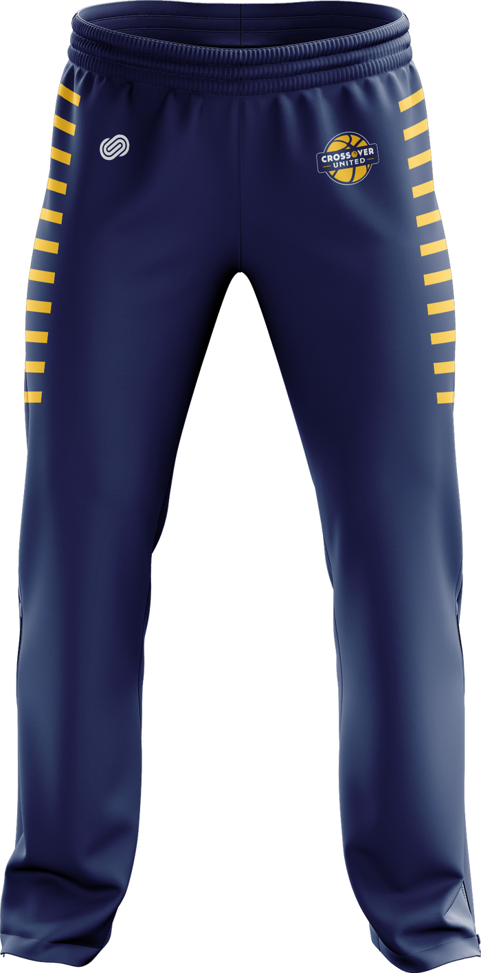Crossover Basketball Tracksuit Pants (Blue)