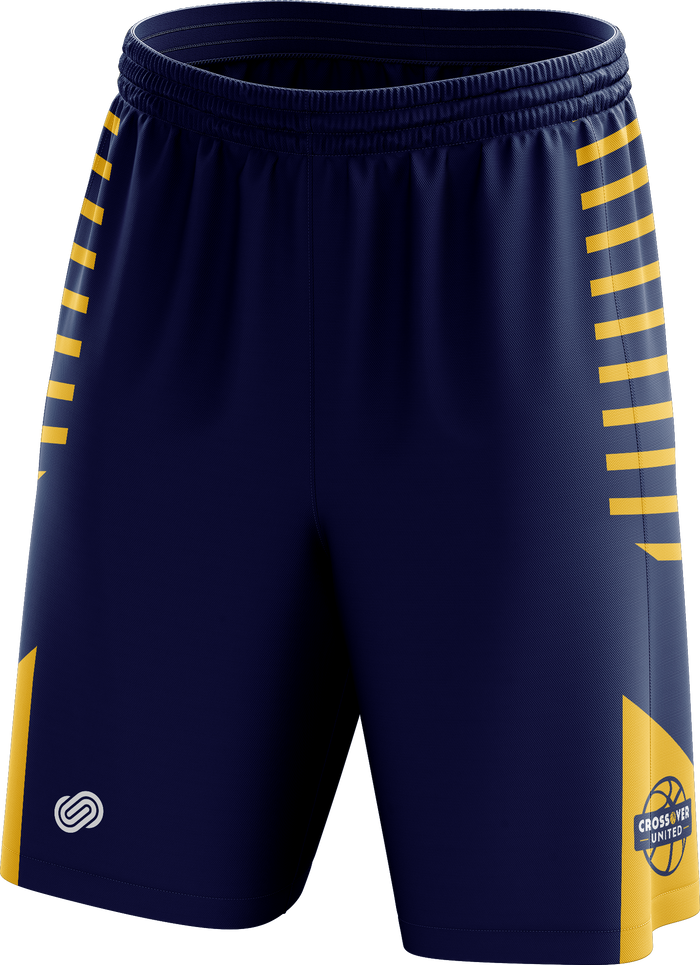 Crossover Basketball Training Shorts - Blue