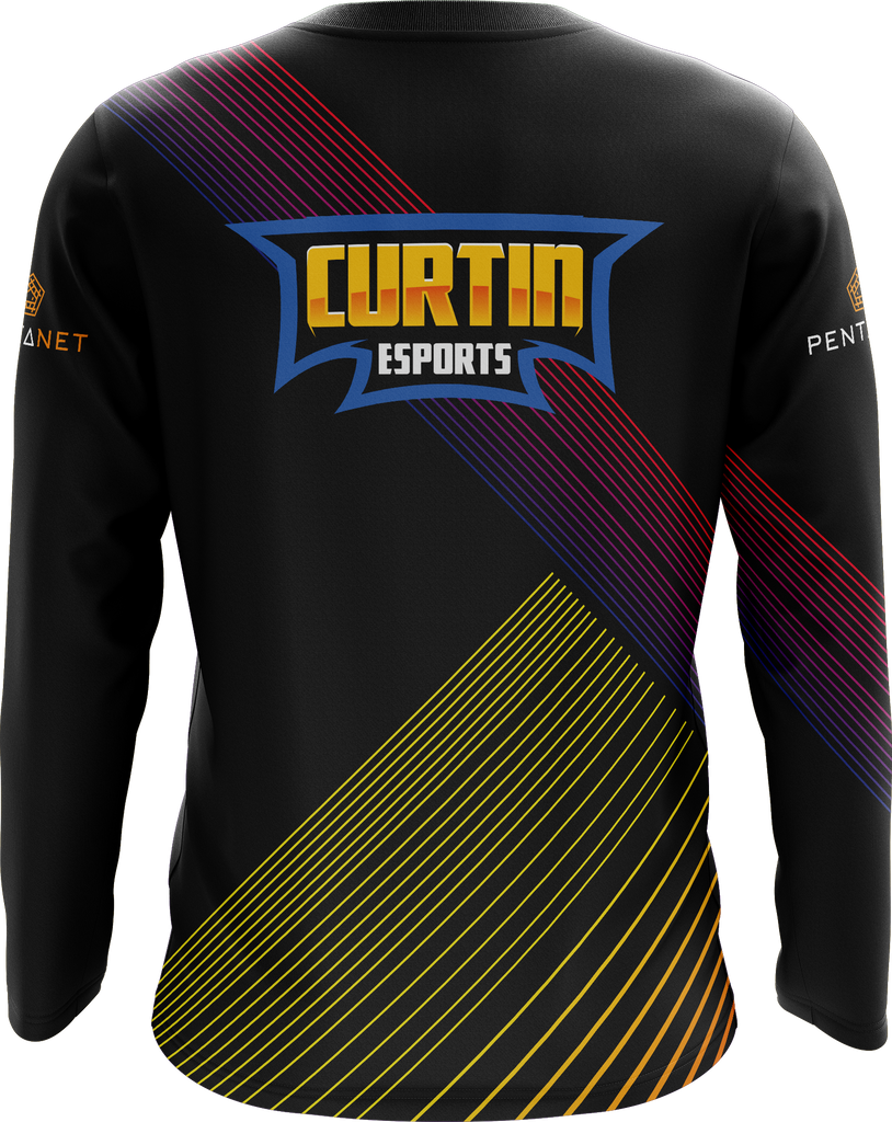 Curtin eSports Long Sleeved T-Shirt