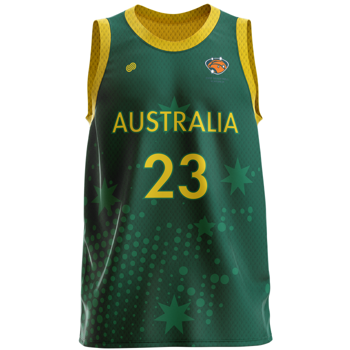 Deaf Basketball Australia Training Reversible