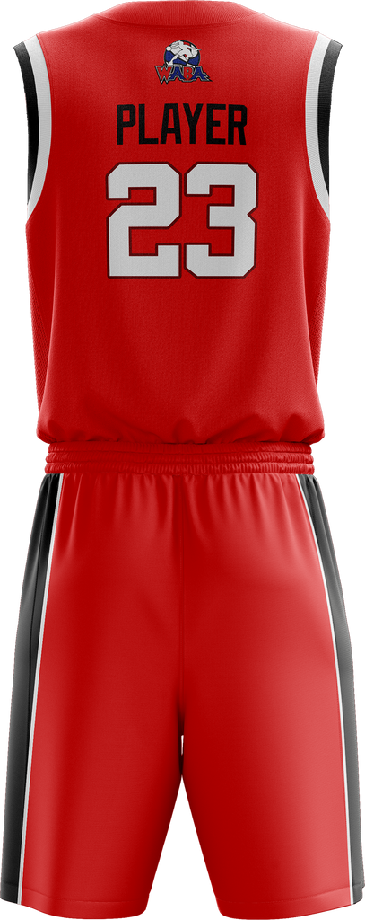 WABA DC Cyclones Home Uniform