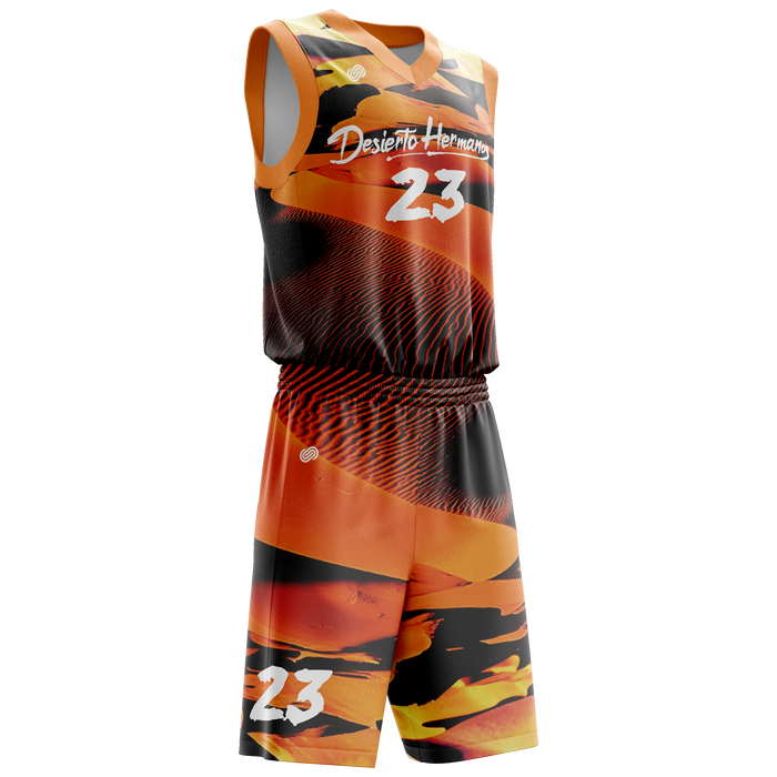 Desierto Hermanos Basketball Jersey & Shorts Set