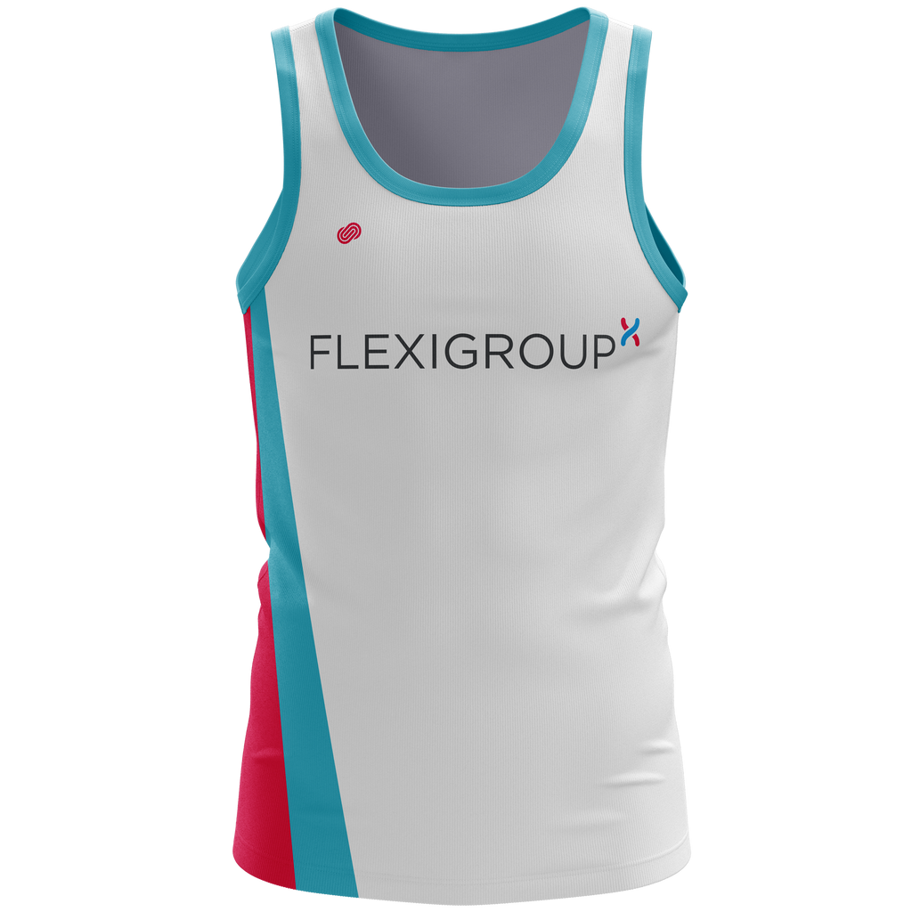bb512be3fc2d4 Previous. Flexigroup Mens Running Singlet. Flexigroup Mens Running Singlet