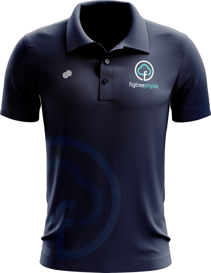 Figtree Physiotherapy Mens Polo Shirt