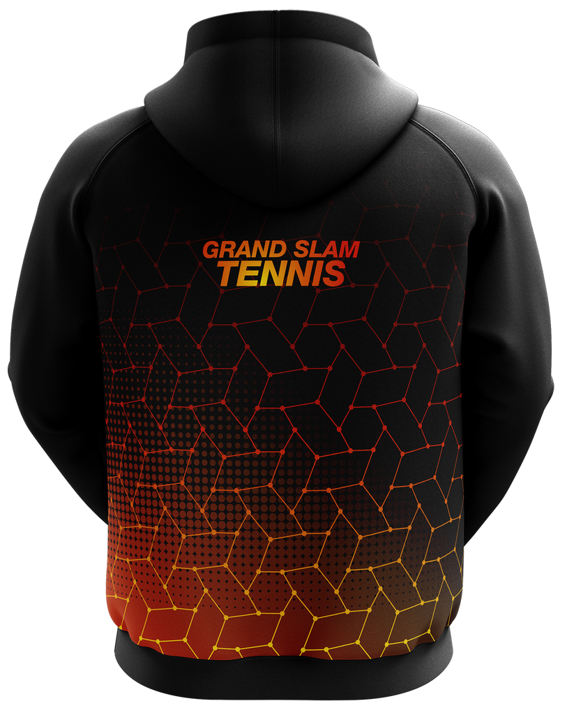 Grand Slam Tennis Black Hoodie
