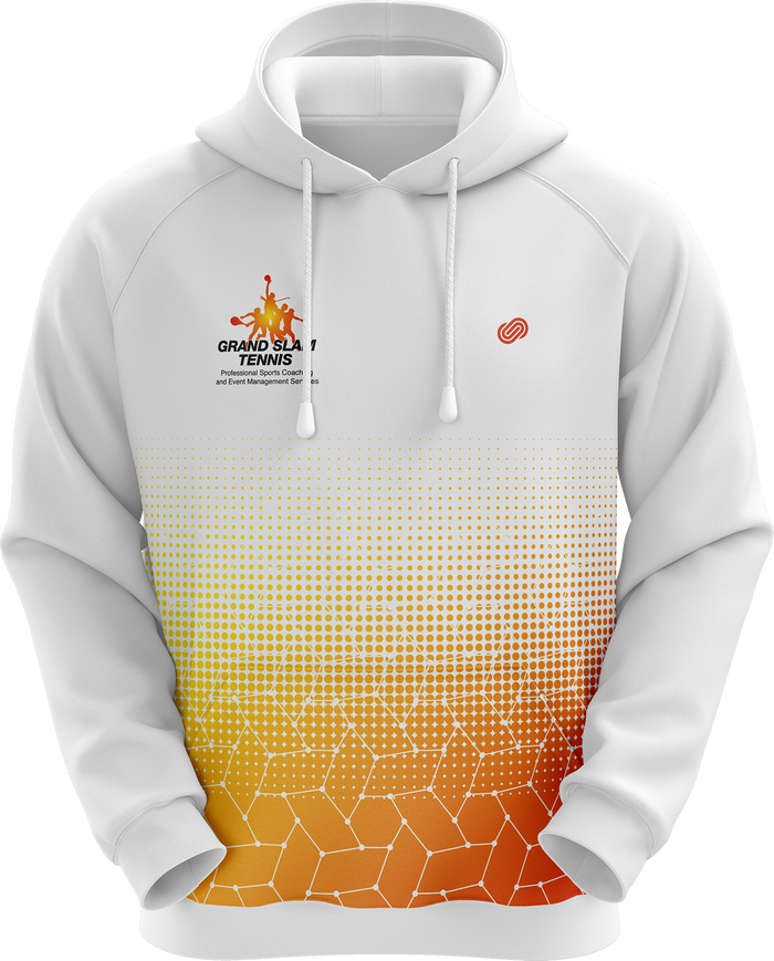 Grand Slam Tennis White Hoodie