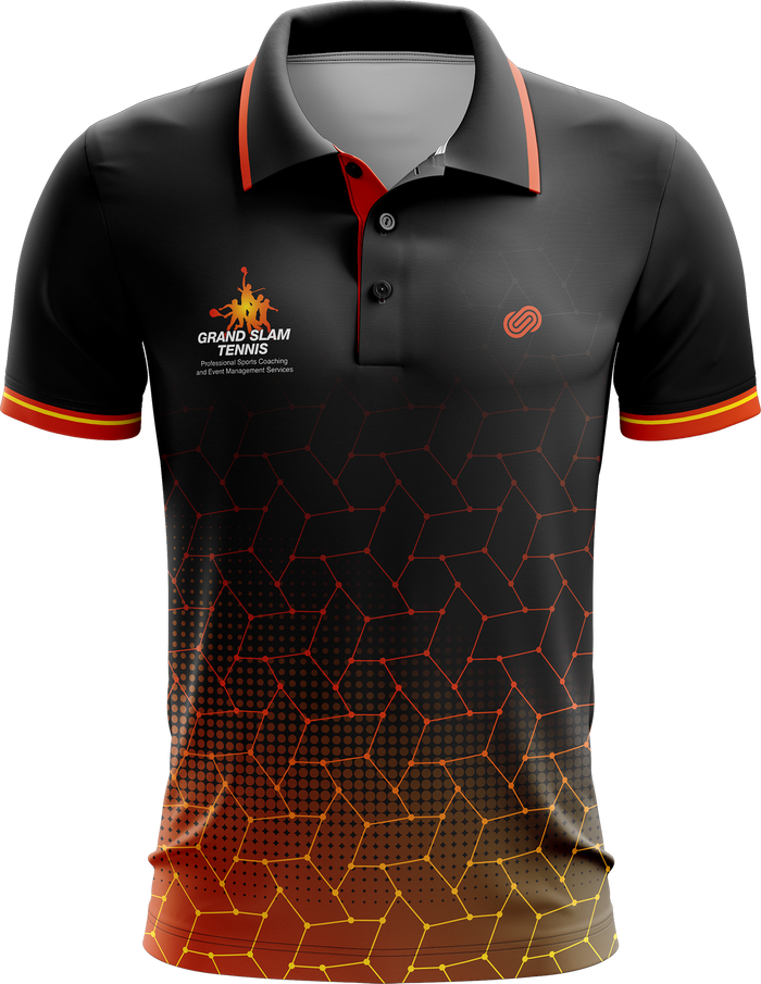 Grand Slam Tennis Black Polo