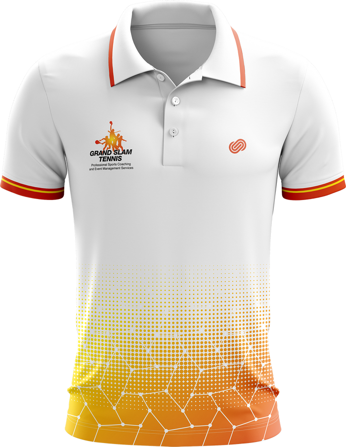 Grand Slam Tennis White Polo