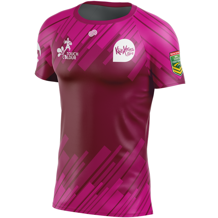 2018 Touch of Colour Maroon