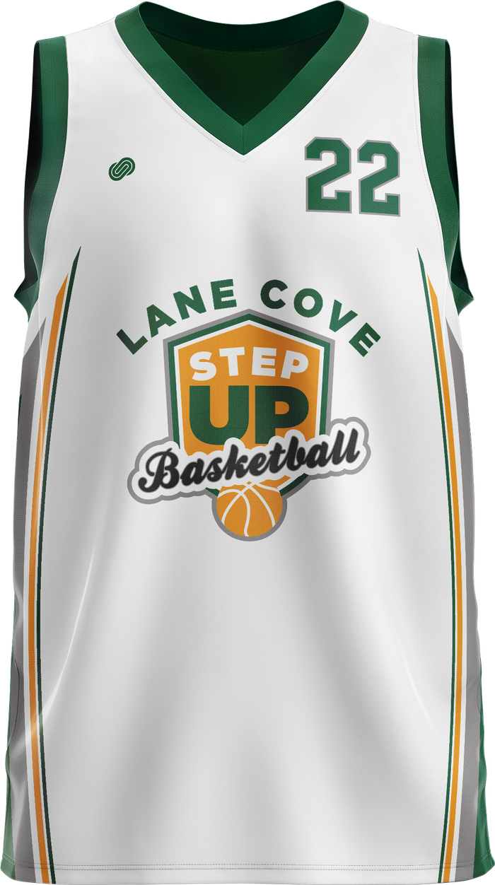 StepUp Lane Cove Reversible Basketball Jersey
