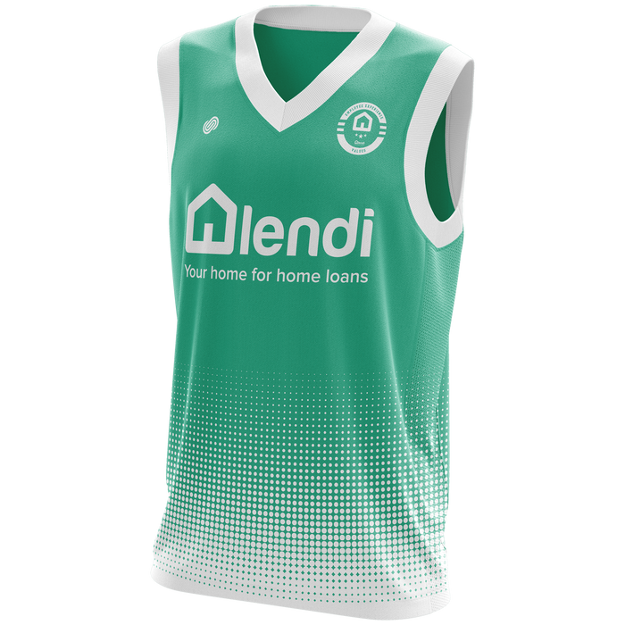 Lendi Teal Employee Values Jersey 2018