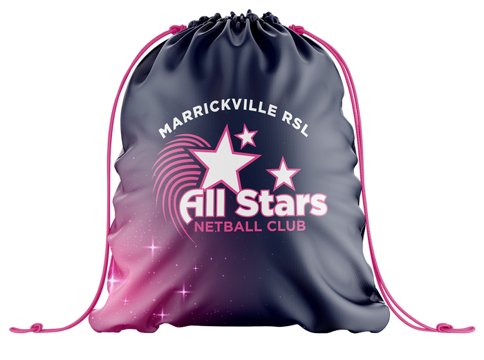 Marrickville Netball Drawstring Bag