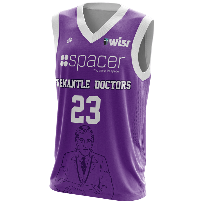 Fremantle Doctors Reversible Basketball Jersey