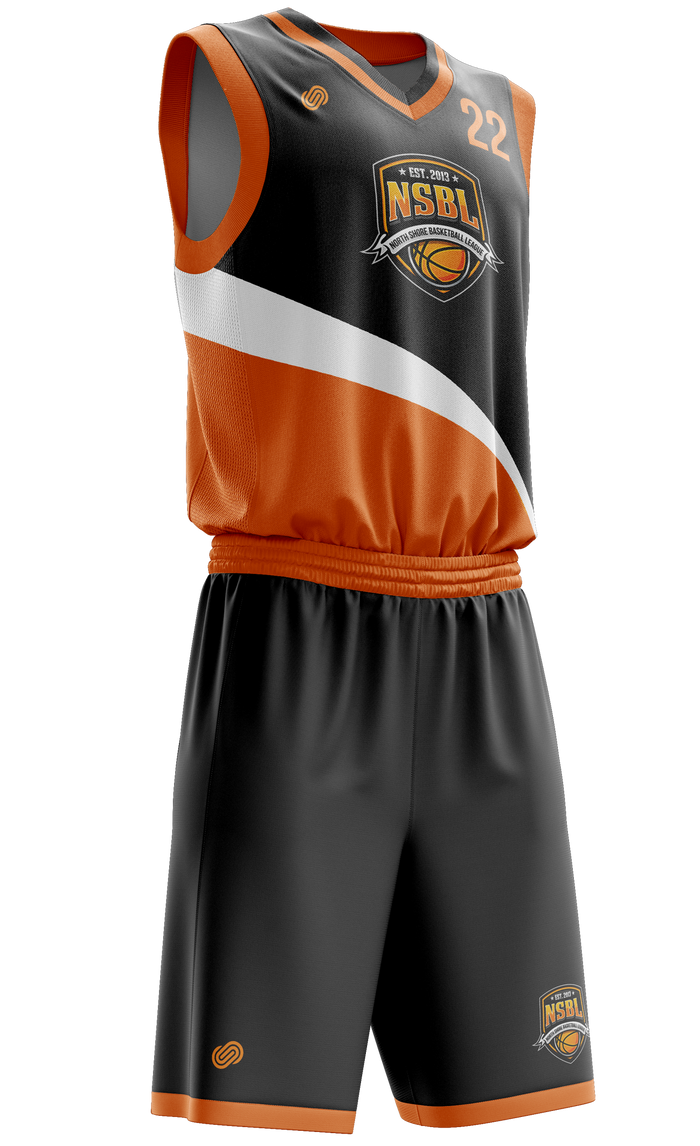 NSBL Team Jersey & Shorts Set