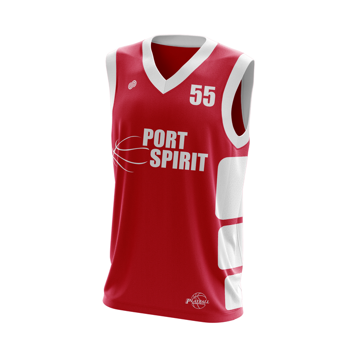 Port Spirit Basketball Uniform