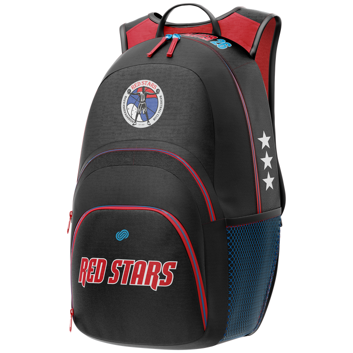 Red Stars Backpack