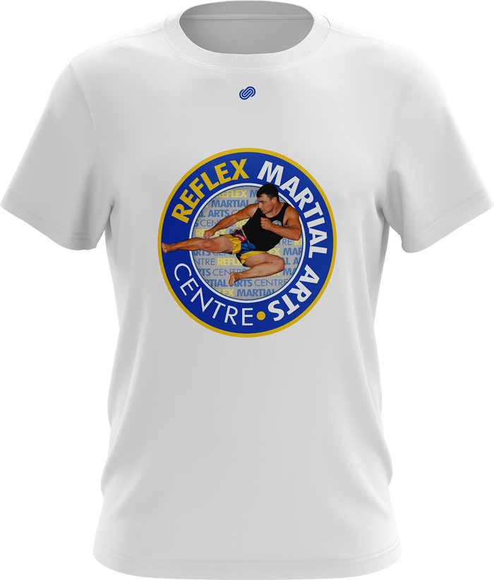 Reflex Mens T-Shirt (White or Blue)