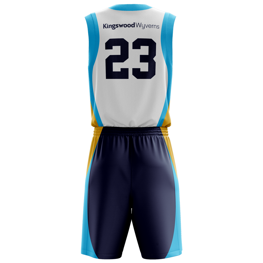 Kingswood Wyverns Reversible Jersey & Shorts Set