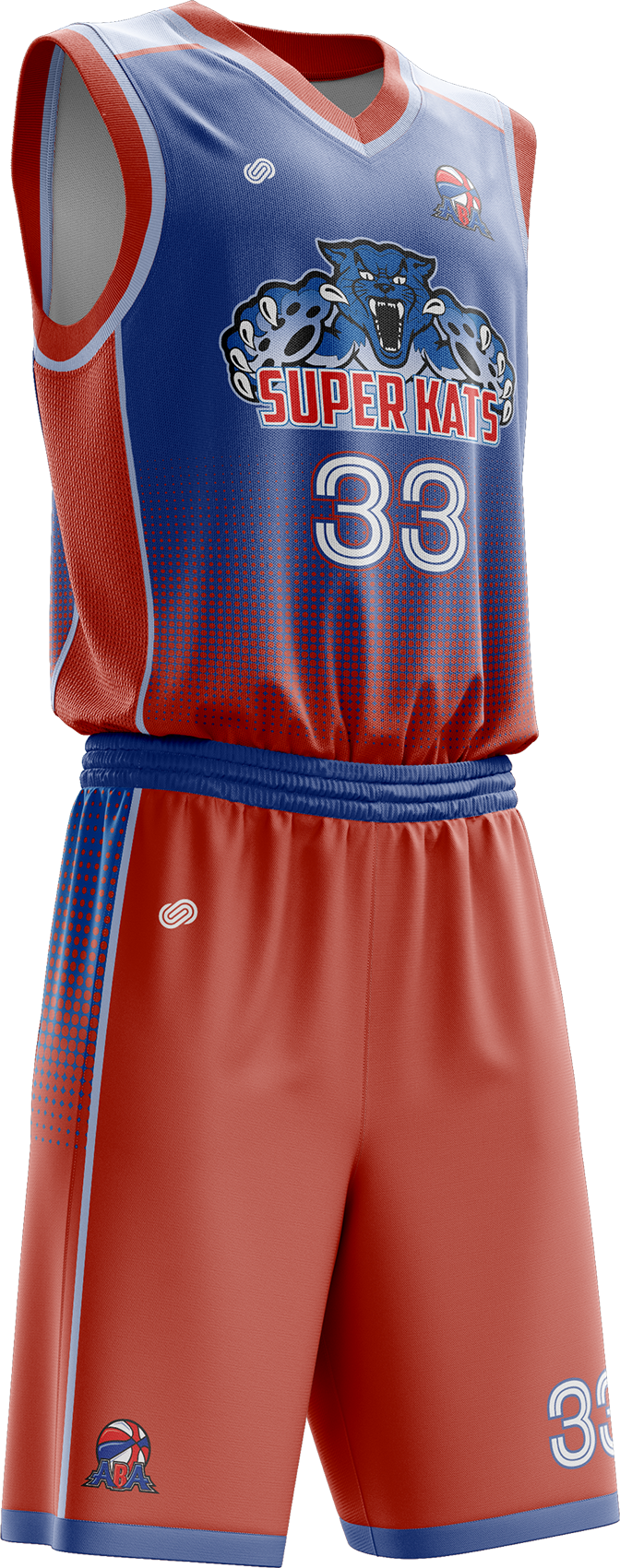 Sacramento Super Kats Home Uniform