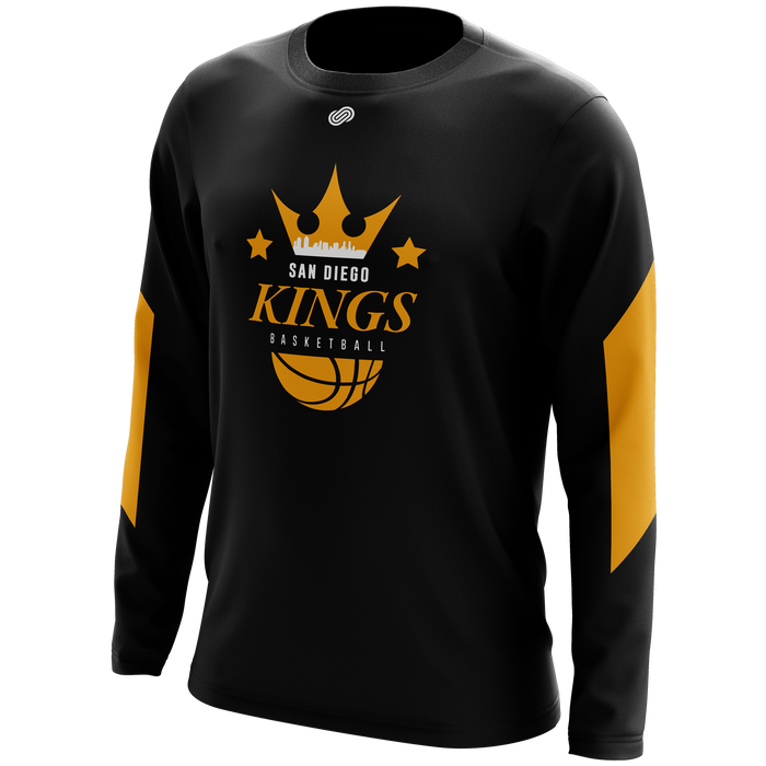 San Diego Kings Long Sleeve Shooting Shirt