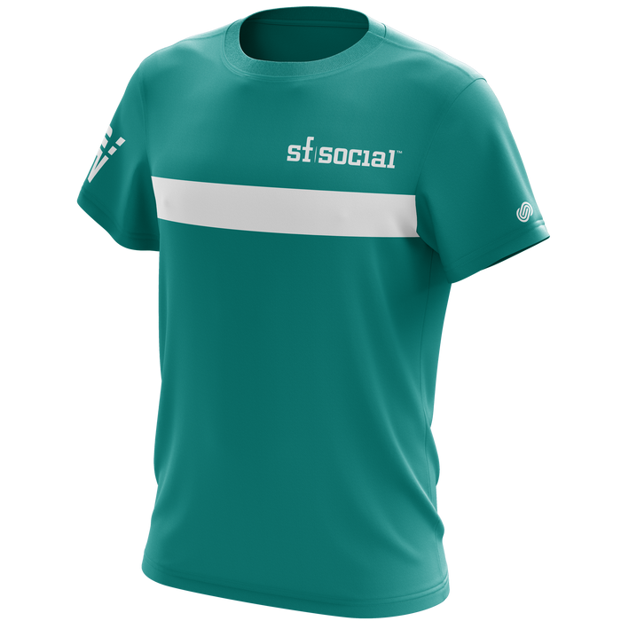 Volocity Teal Team T-Shirt