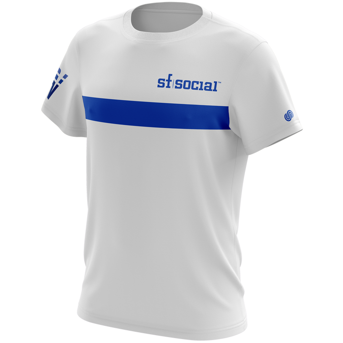 Volocity White Team T-Shirt