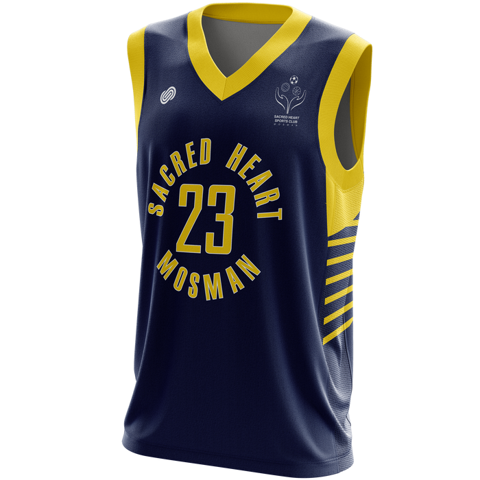 Sacred Heart Mosman Reversible Basketball Jersey