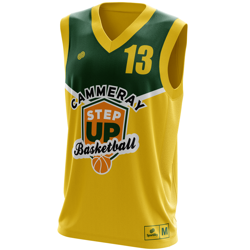 StepUp Cammeray Reversible Basketball Jersey