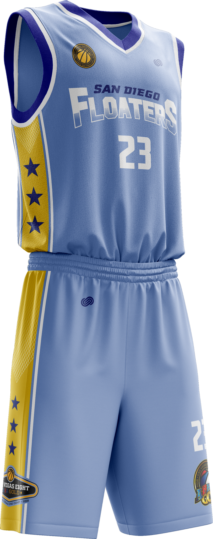 San Diego Floaters Road Uniform