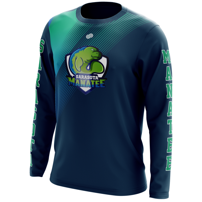 Sarasota Manatee Long Sleeve Shooting Shirt