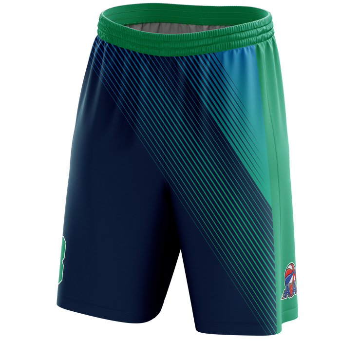 Sarasota Manatee Basketball Shorts