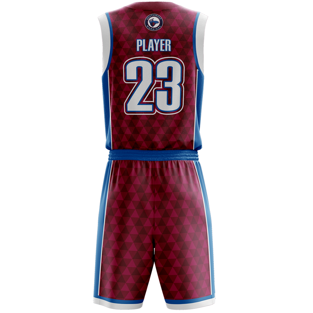 Southwest Warriors Jersey & Shorts Set