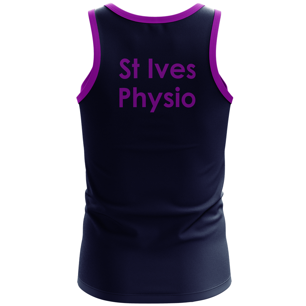 St Ives Physiotherapy Mens Running Singlet