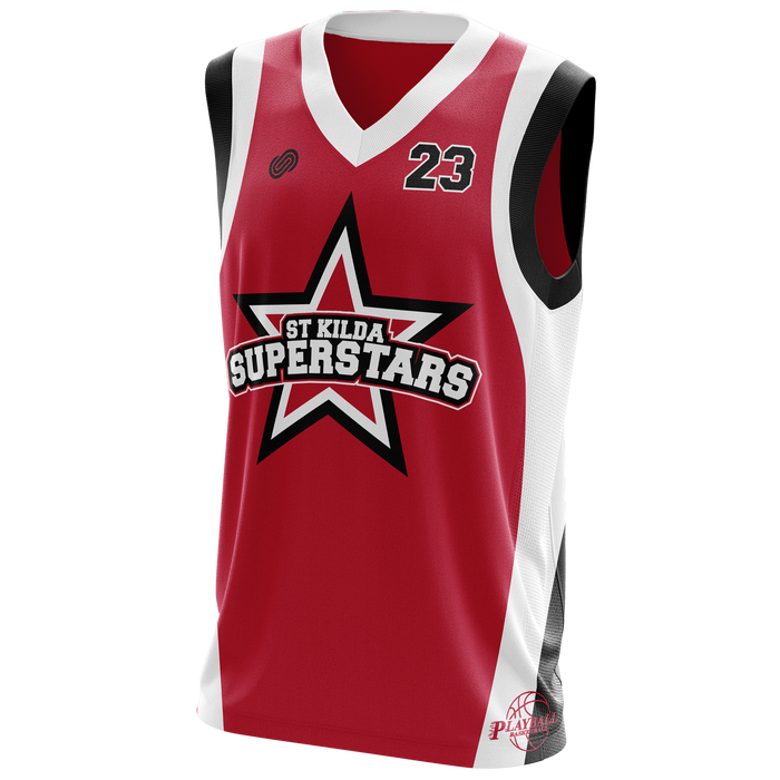 St Kilda Superstars Basketball Uniform
