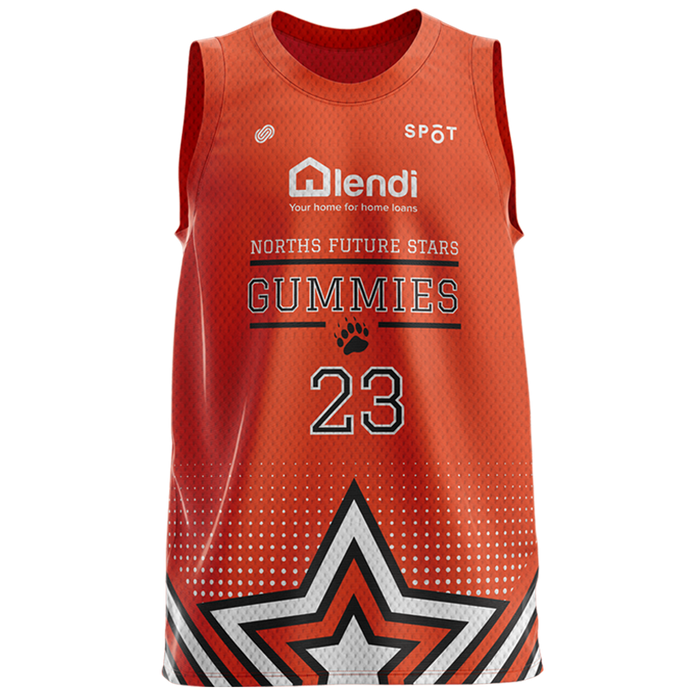 Norths Future Stars Gummies Reversible