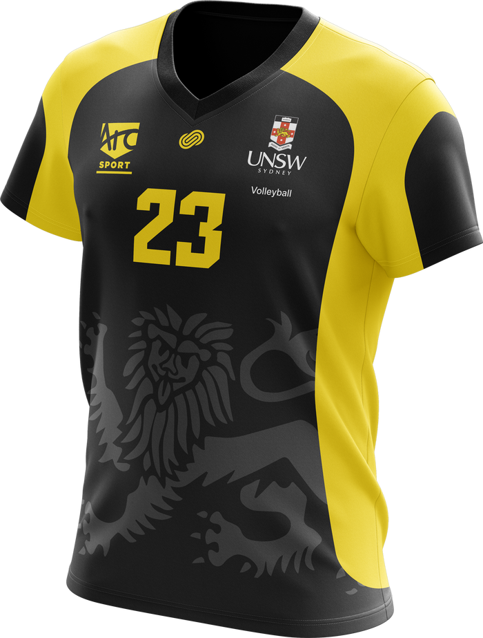 UNSW Volleyball Jersey Black