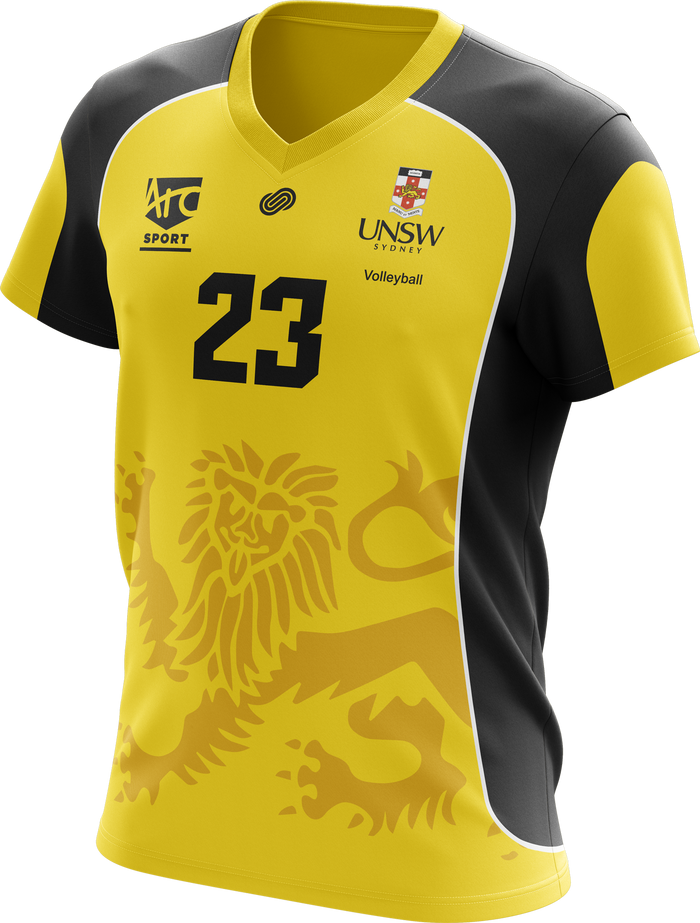 UNSW Volleyball Jersey Yellow