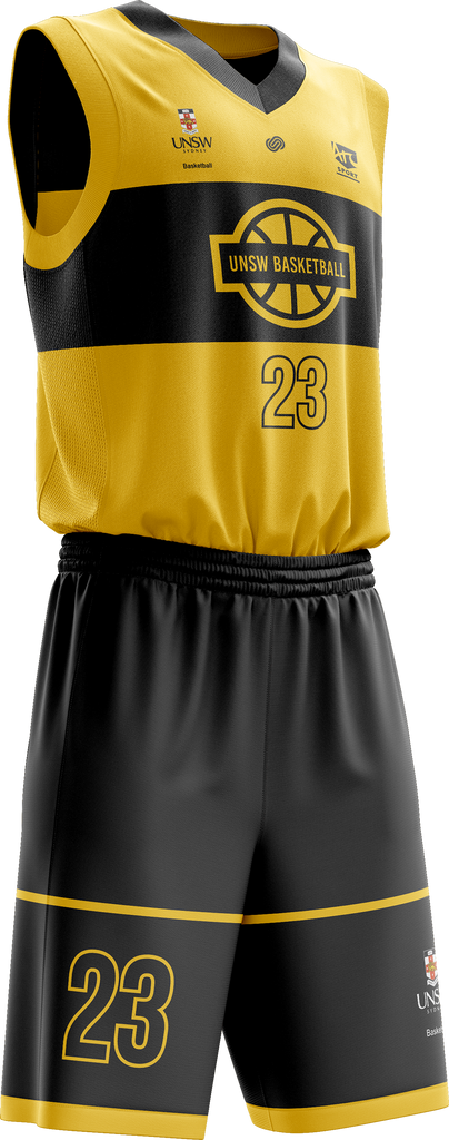UNSW Basketball Game Jersey & Shorts Set