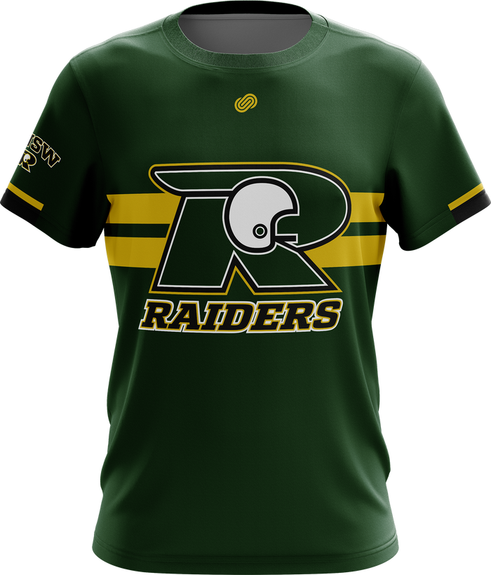 UNSW Raiders Gridiron Mens Casual T-Shirt