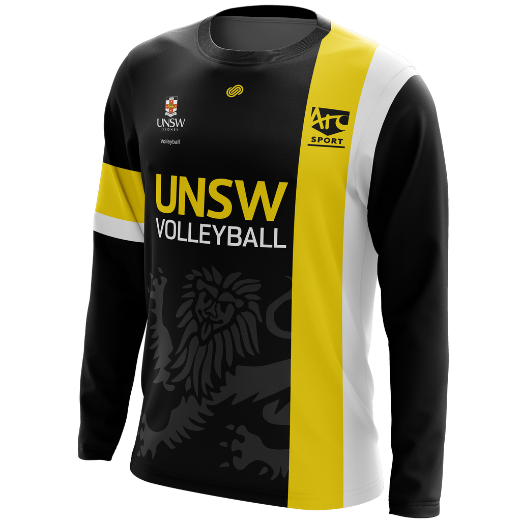1c19fd1eed0 Previous. University of NSW Vball Reps Long Sleeve Warm Up Shirt.  University of NSW Vball Reps Long Sleeve Warm Up Shirt