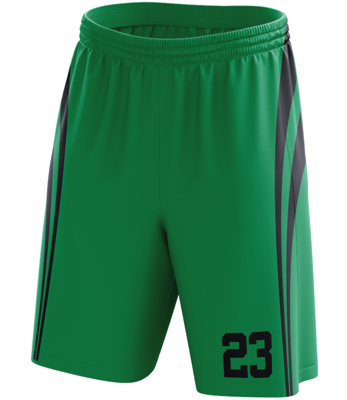 AP Waves Single Sided Basketball Shorts