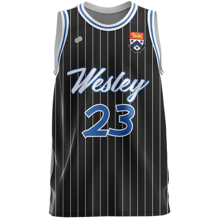 Wesley College Womens Basketball Uniform Jersey & Shorts Set